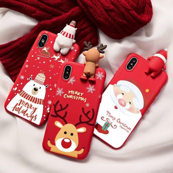 Stylový vánoční kryt na telefon