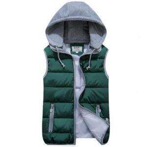 Pánská stylová zimní vesta Lucas