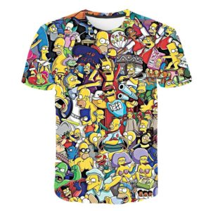 Unisex tričko Simpsons