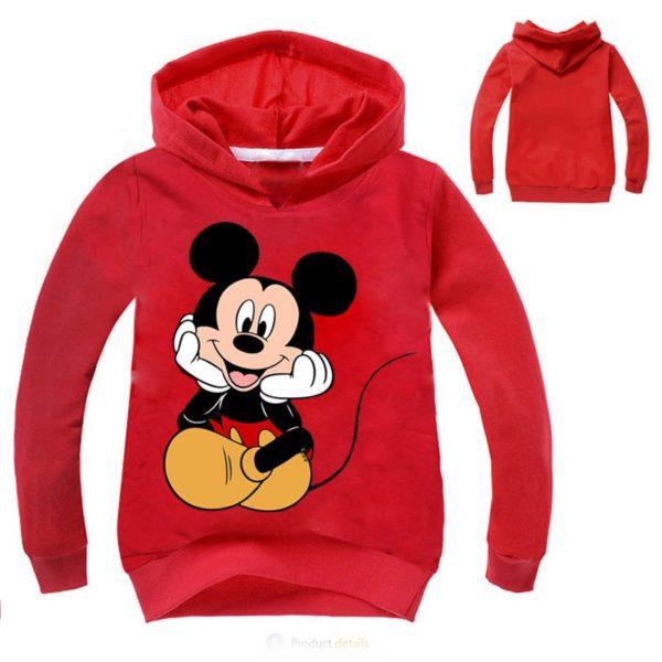 Dětská mikina a kapucí Mickey Mouse