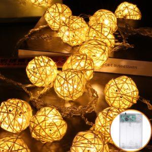 Světelný řetěz s koulemi