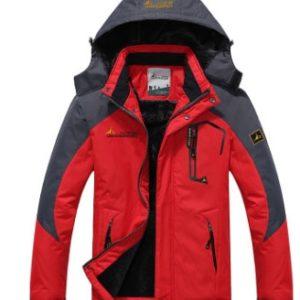 Unisex stylová nepromokavá zimní bunda