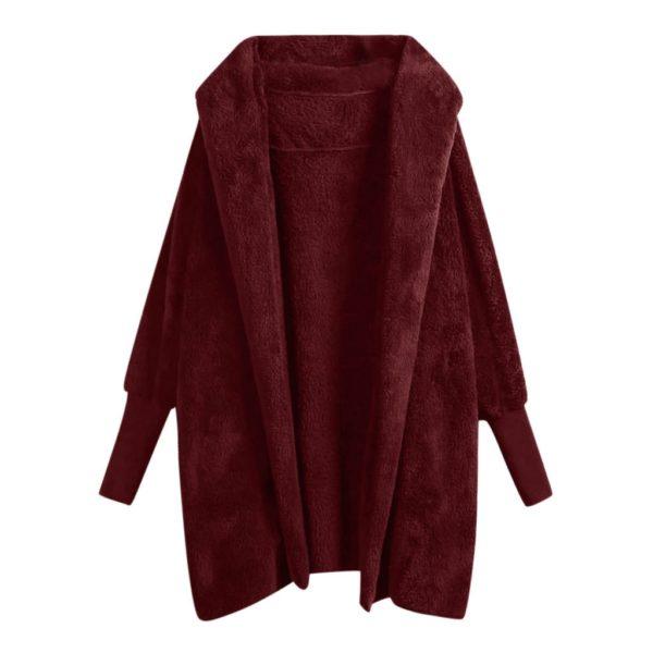 Dámský luxusní zimní kabát Nicola