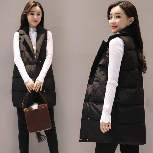 Dámská luxusní zimní vesta Monica