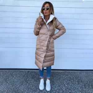 Dámský luxusní zimní kabát Rose