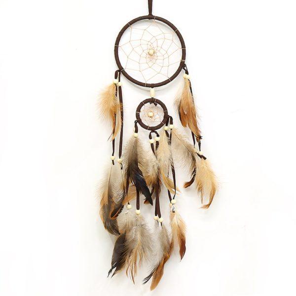 Stylový lapač snů v indiánském stylu