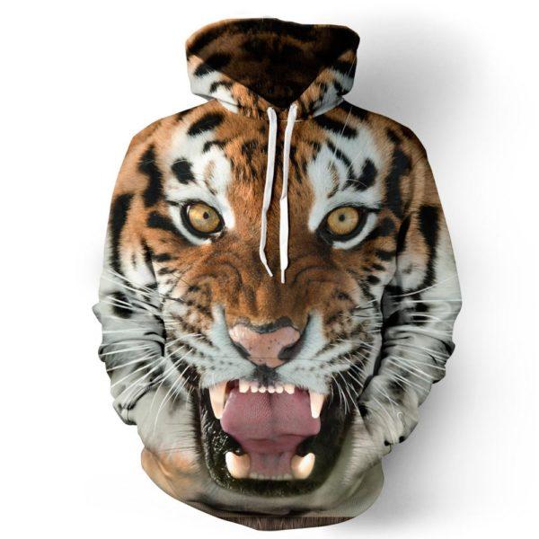 Dětská 3D mikina s motivem zvířat