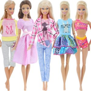 Sada oblečení pro Barbie panenky