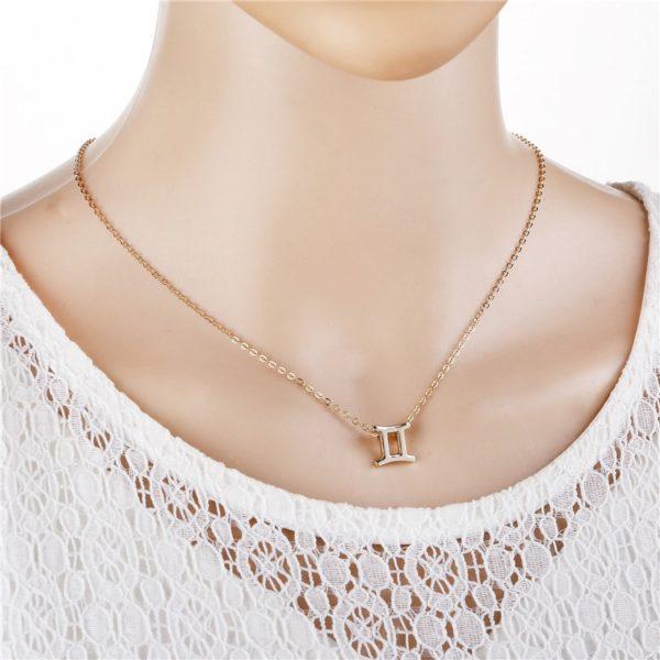 Dámský náhrdelník - znamení zvěrokruhu