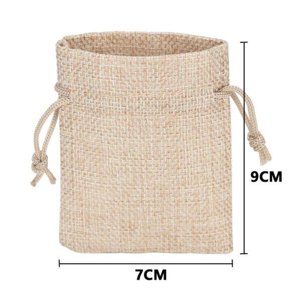 Svatební tašky se šńůrkami