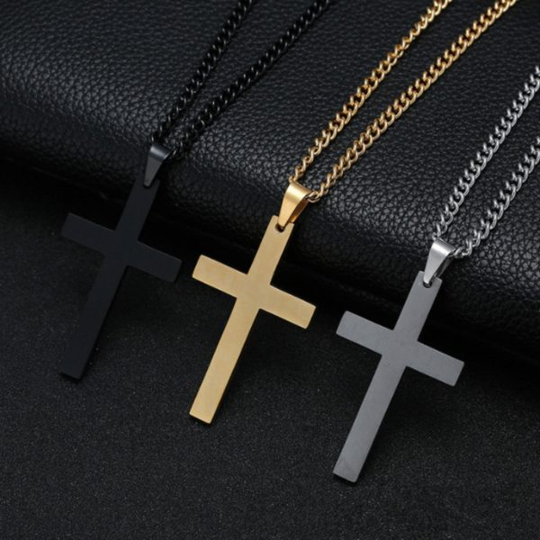 Nádherný pánský řetízek s křížem