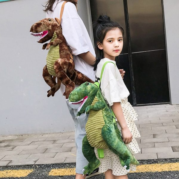 Dětský roztomilý batoh - dinosaurus