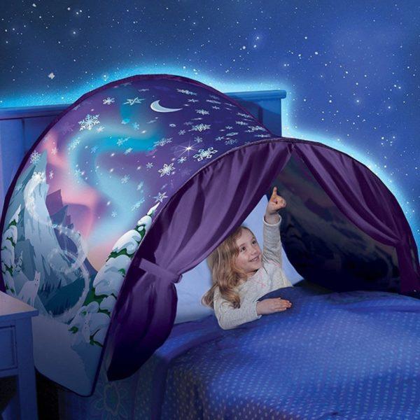 Dětský stan nad postel pro klidné sny