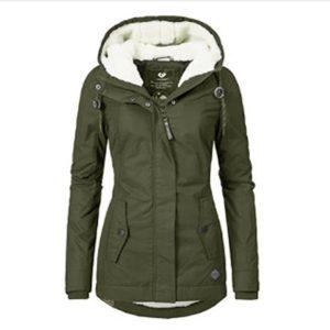 Trendy zimní teplá bunda Nero