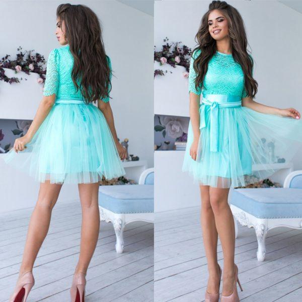 Šaty s tylovou sukní Cybill