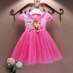 Dívčí šaty Elsa a Anna