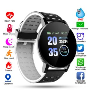 Pánské chytré fitness hodinky s Bluetooth