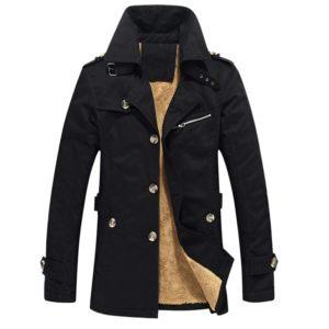 Elegantní pánský kabát Derreck