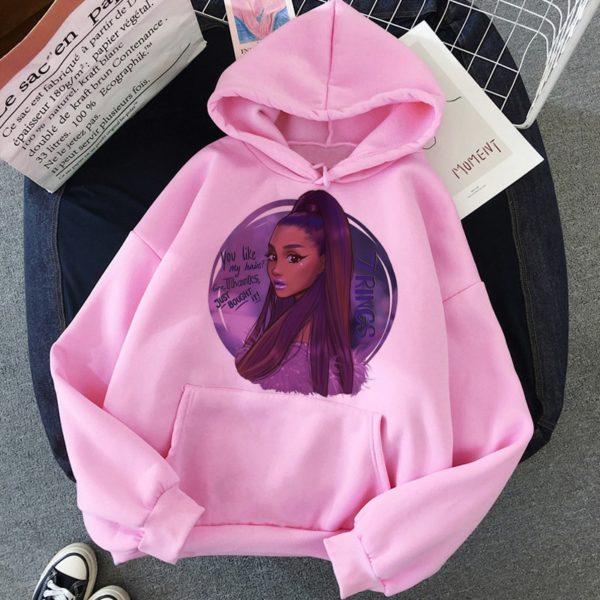 Dámská mikina Ariana Grande s kapucí