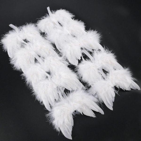 Krásná dekorace andělských křídel