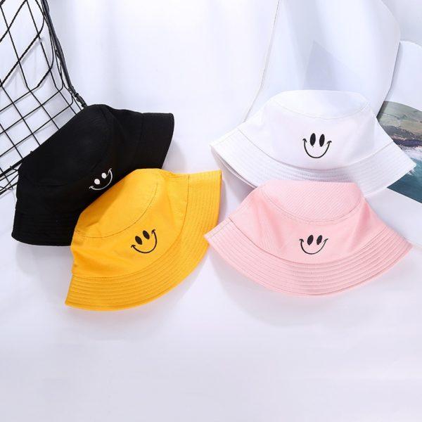 Unisex klobouk se smajlíkem