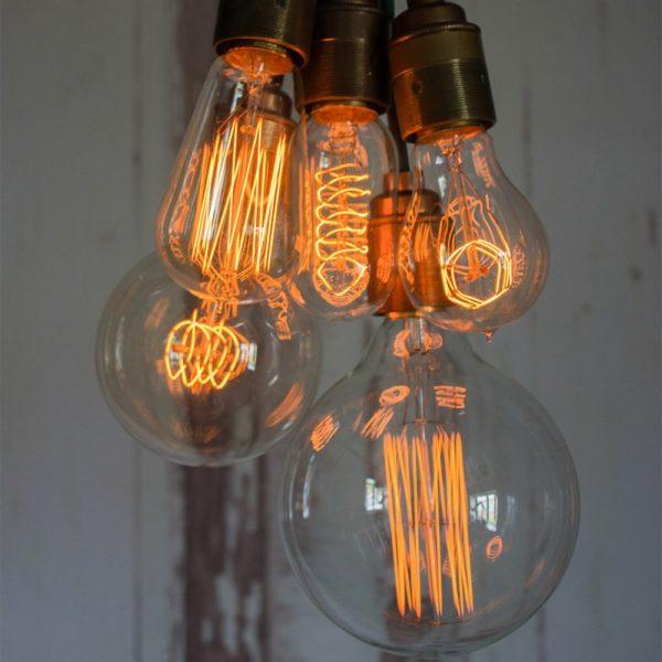 Retro vintage žárovka
