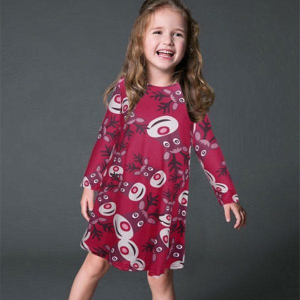 Dívčí vánoční šaty Merry