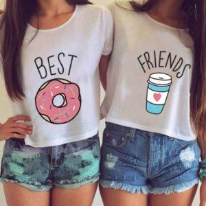 Dámské trička pro nejlepší kamarádky