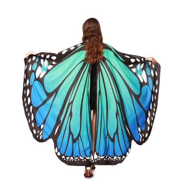 Motýlí křídla - dětský kostým 135x168