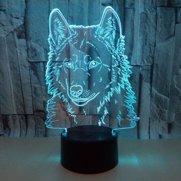 Noční 3D osvětlení pro děti