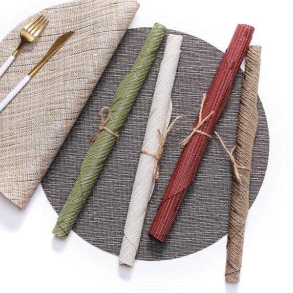 Prostírání s bambusovým vzorem