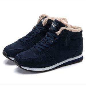 Pánské zimní boty s beránkem
