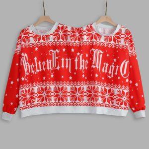 Spojený vánoční svetr pro páry