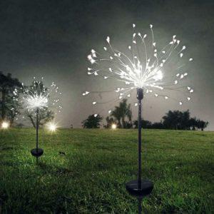 LED prskavka na zahradu / Vánoční dekorace