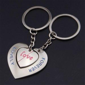 Přívěsky na klíče pro zamilované