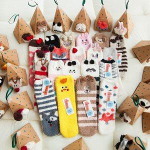 Roztomilé teplé ponožky