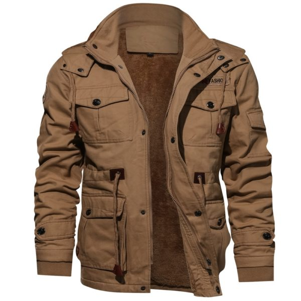 Pánská zateplená bunda v Army střihu - 3 barvy