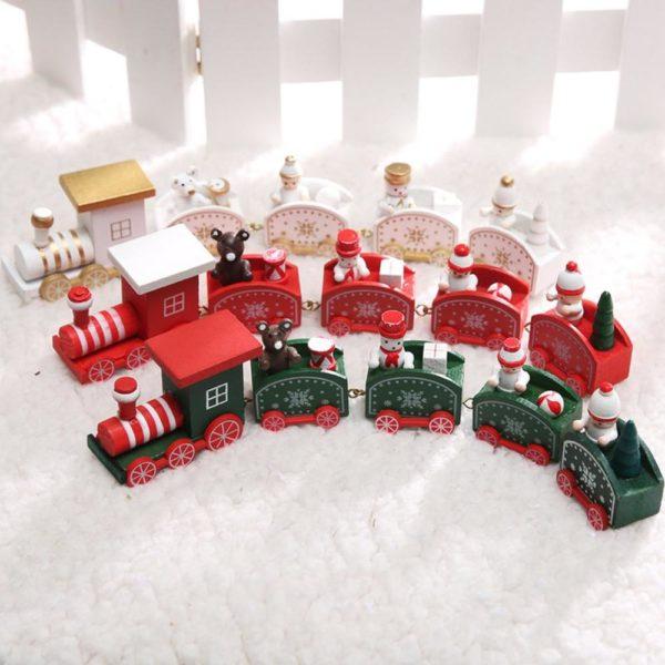 Vánoční dekorace - vláček