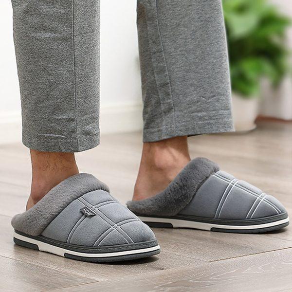 Pohodlné pánské domácí pantofle