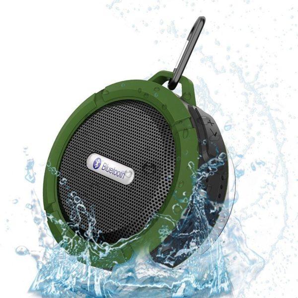 Přenosný voděodolný bezdrátový reproduktor