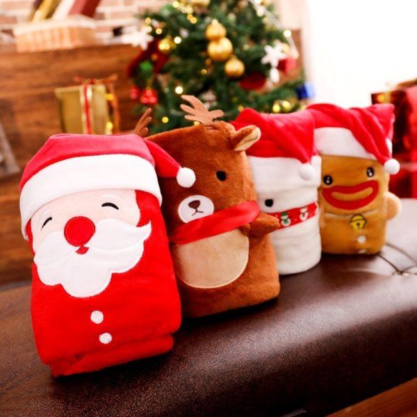 Ozdobná Vánoční deka