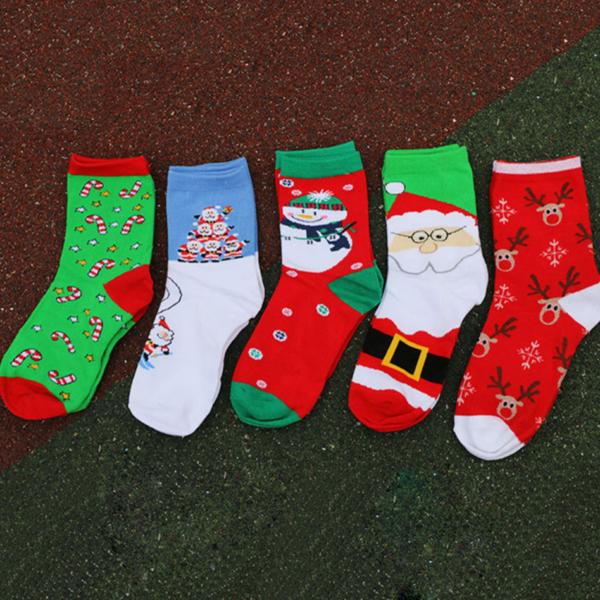 Unisex ponožky se zimními motivy Snow