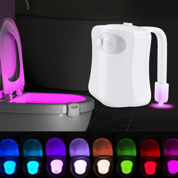 LED cool světlo na toaletu