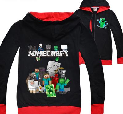 Minecraft mikina pro kluky i holky