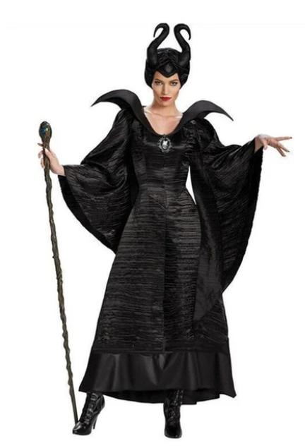 Kostým královny černé magie - Zloba
