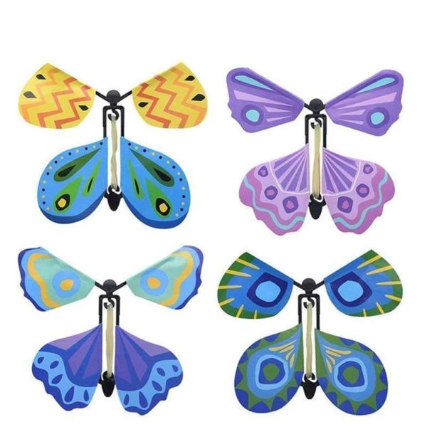 Kouzelná létající hračka motýl