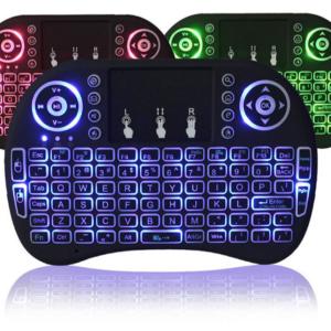 Podsvícená bezdrátová klávesnice