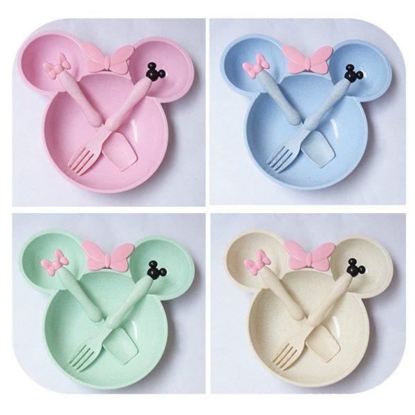 Sada nádobí Mickey Mouse pro děti