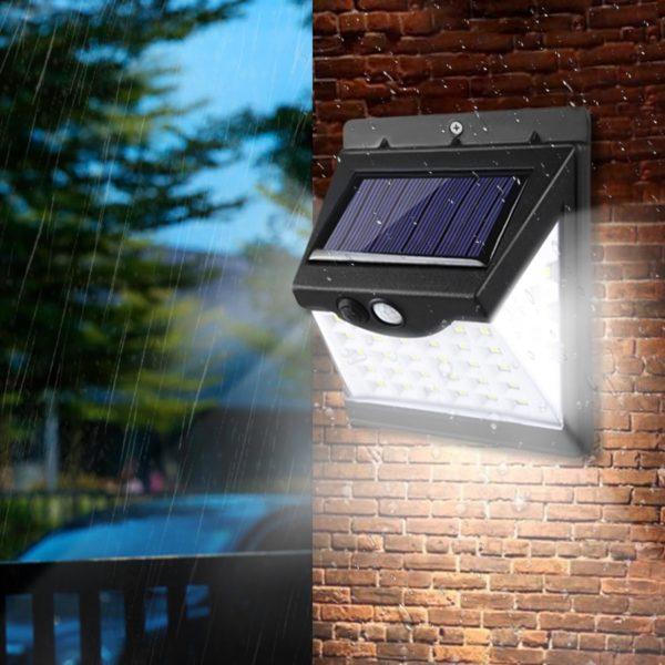 Solární venkovní LED osvětlení