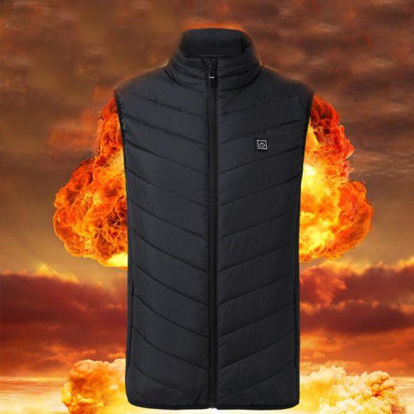 Pánská vyhřívaná vesta - Victor